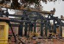 """Thái Bình : Lộ ra công trình xây """"chui"""" khi một Di tích quốc gia cháy rụi"""