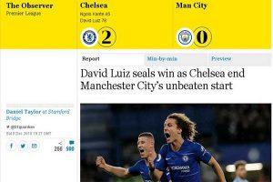 Man City đứt mạch bất bại