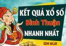 Soi cầu XS Bình Thuận chính xác thứ 5 ngày 05/12/2019