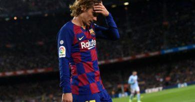 Bóng đá quốc tế sáng 25/5: Barca ra quyết định về việc bán Griezmann cho MU