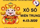 Phân tích xổ số Miền Trung thứ 6 ngày 4/12/2020