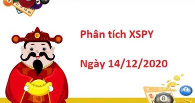 Phân tích XSPY 14/12/2020